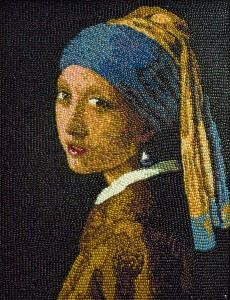IMG: Jelly Belly Art: Girl with A Pearl Earring