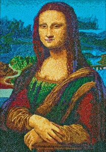 IMG: Jelly Belly Art: Mona Lisa