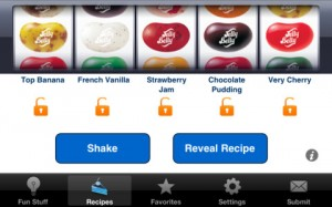 IMG: Jelly Belly Recipe Shaker iPhone App